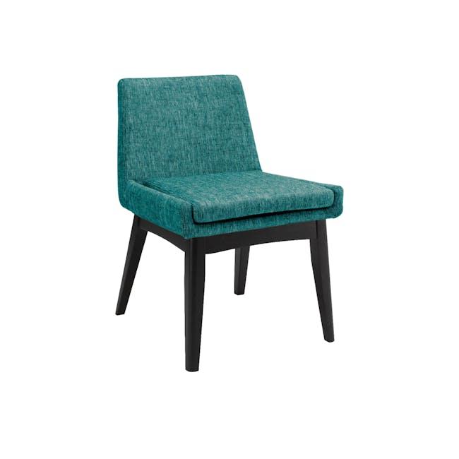 Fabian Dining Chair - Black, Parsley - 0