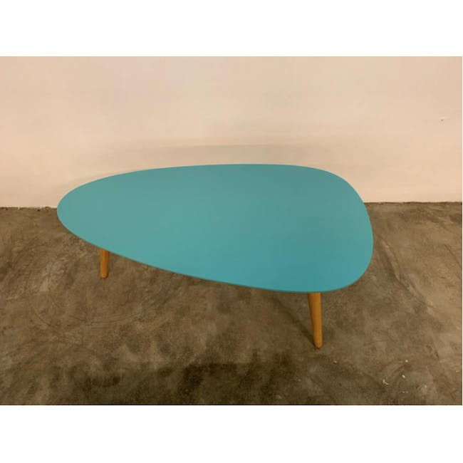 (As-is) Avery Coffee Table - Robin Blue - 1