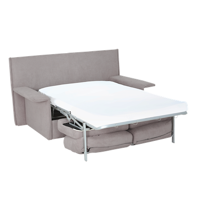 Dutro Sofa Bed - Light Grey - Image 2