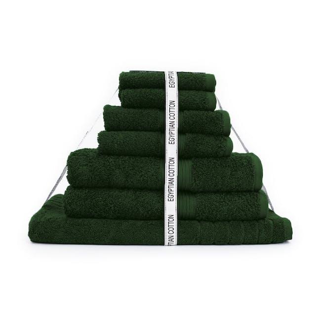Canningvale Egyptian Royale 7pc Towel Set - Verdura Green - 0