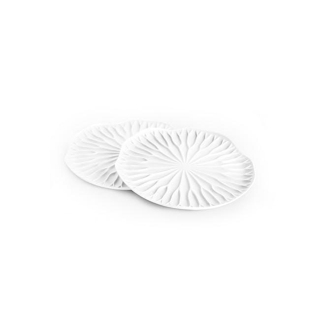 Baibua Coaster - White (Set of 2) - 0
