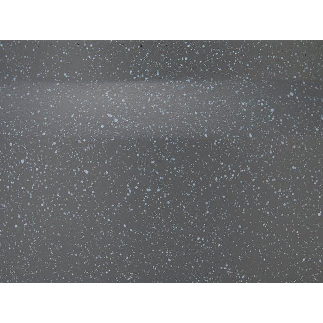 Lucca Modern Pot - Dark Grey - Low - 1