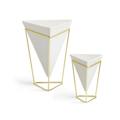 Trigg Tabletop Vessel (Set of 2) - Brass - Image 1