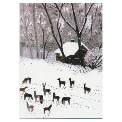 Winter Card by Becca Stadtlander (Pack of 6)