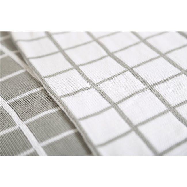 Scandi Throw Blanket 120 x 180 cm - Grey - 5