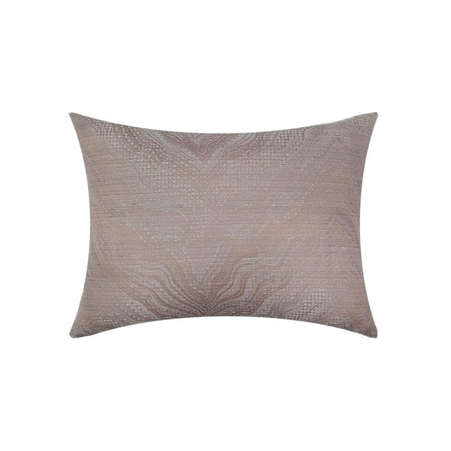 Greek Oblong Cushion Cover - Taupe - 0
