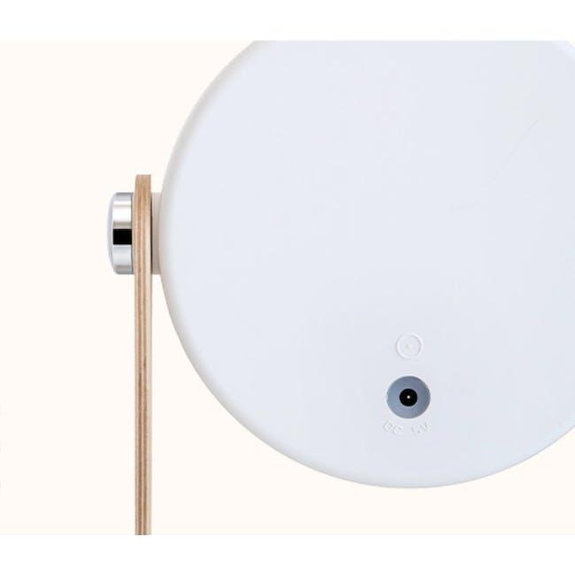 Faye Accordion LED Table Lamp - White - 7