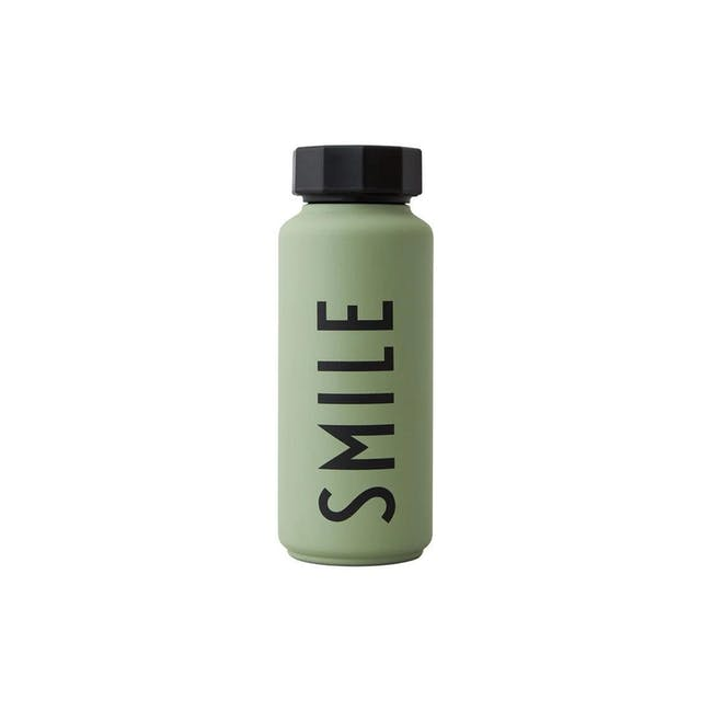 Insulated Bottle Special Edition - Green (Smile) - 0