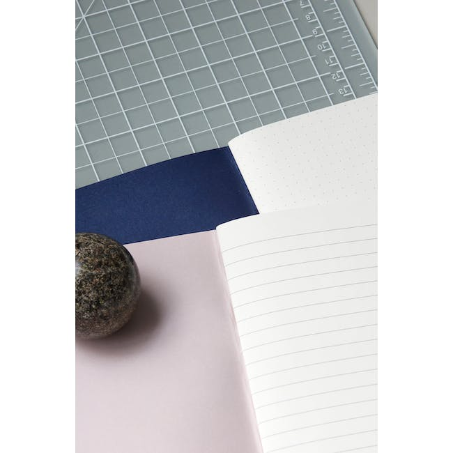 A4 Lily Notebook with A5 Jule Notebook Stationery Set - 2