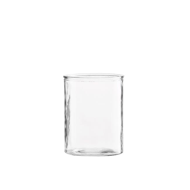 Cylinder Short Vase - Clear - 0