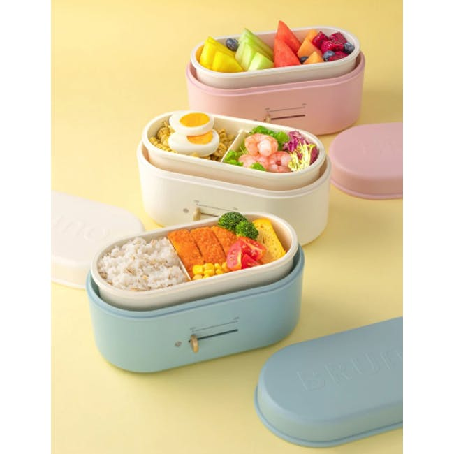 BRUNO Lunch Box Warmer - Blue Grey - 1