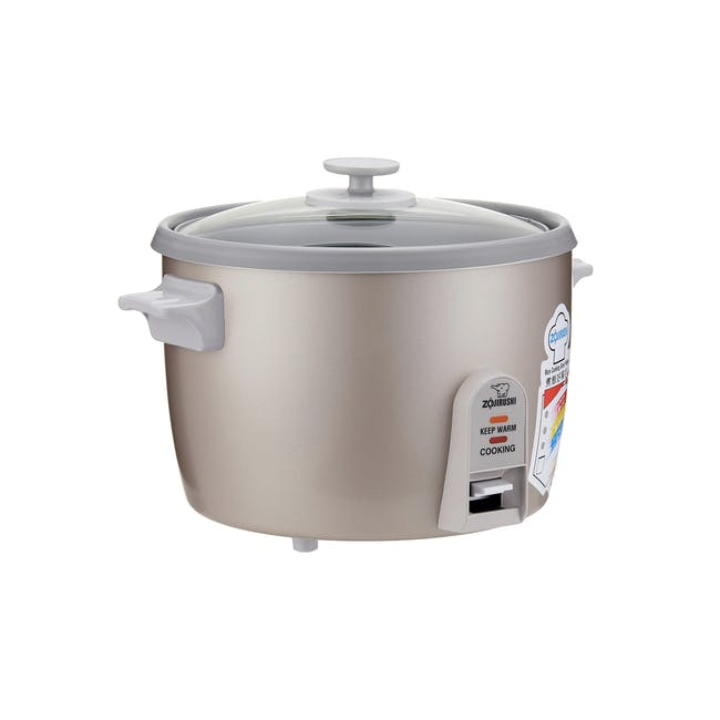 Zojirushi Traditional 1.8L Rice Cooker NH-SQ - Herb Cacao - 0