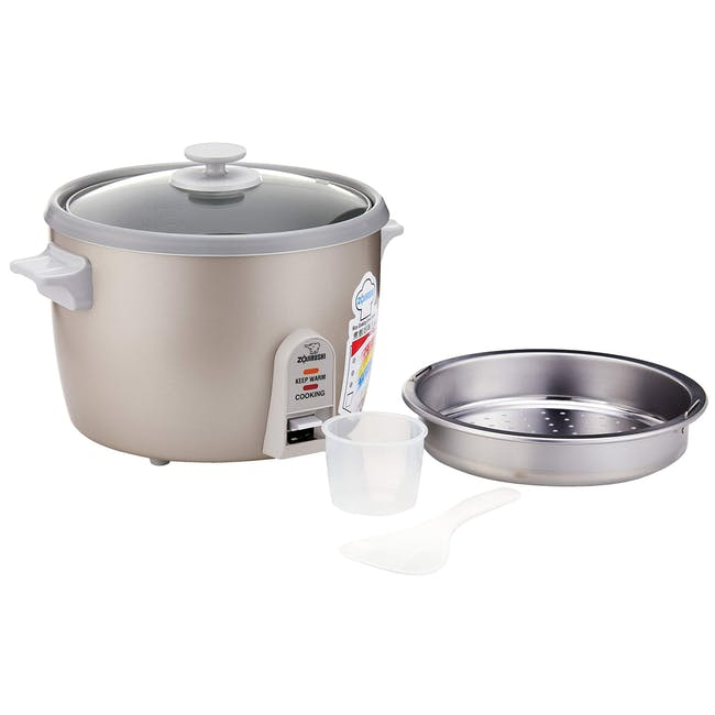 Zojirushi Traditional 1.8L Rice Cooker NH-SQ - Herb Cacao - 1