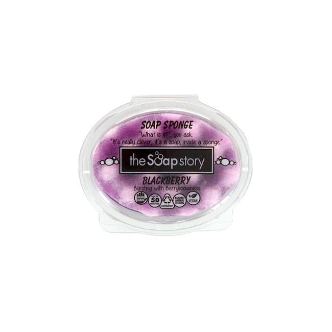 Soap Sponge 150g: Blackberry - 0