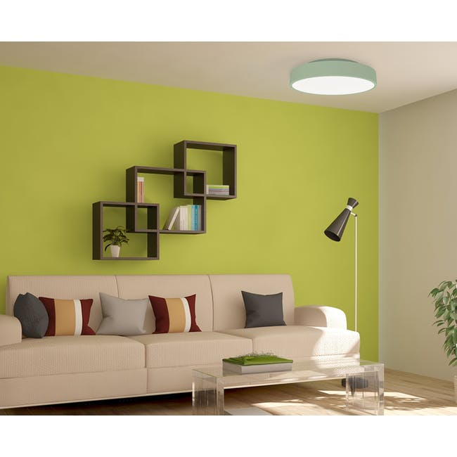 Yeelight LED Smart Ceiling Light with Remote - Mint Green - 5