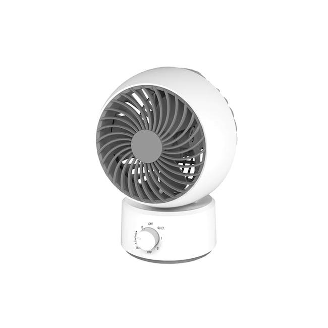 SOUNDTEOH 6 Inch Air Circulator Fan - 0