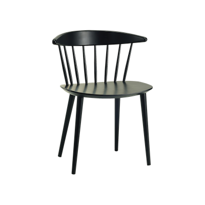 Isolda Dining Chair - Black - Image 1