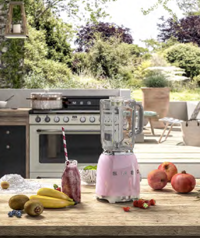 Smeg 800W Blender - Mint - Image 2