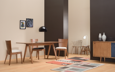 Varden Dining Table 1.7m - Cocoa - Image 2
