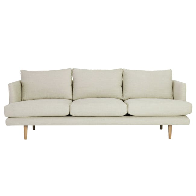 Duster 3 Seater Sofa - Almond (Fabric) - 0