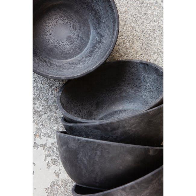 Serveur Dessert Bowl - Black (Set of 4) - 1