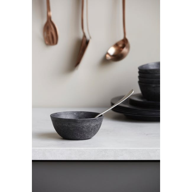 Serveur Dessert Bowl - Black (Set of 4) - 3