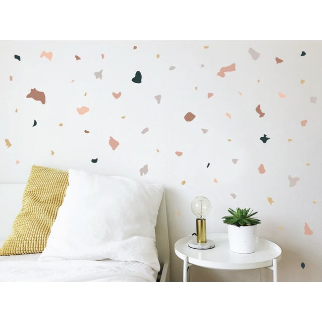 Urban Li'l Terrazzo Fabric Decal - Dunes - 0