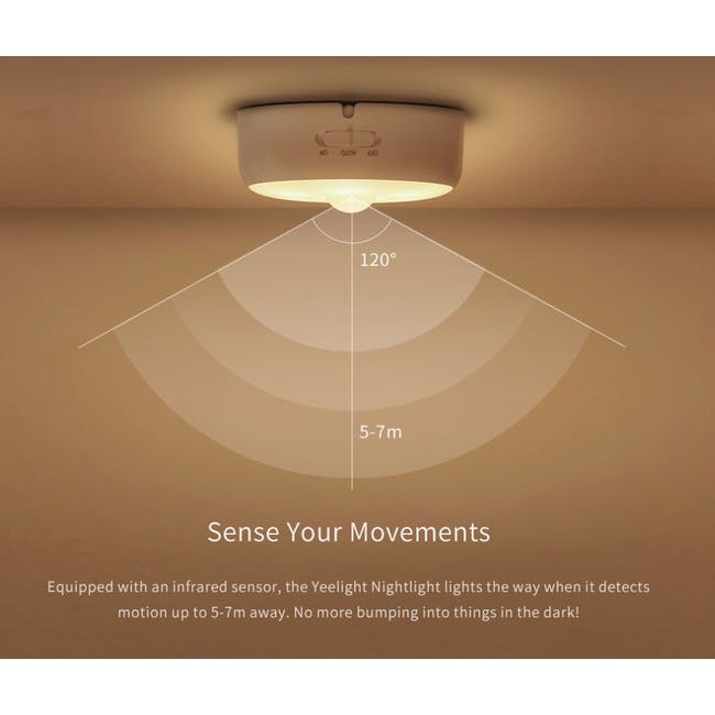 Yeelight Motion Sensor Nightlight - Wireless - 2