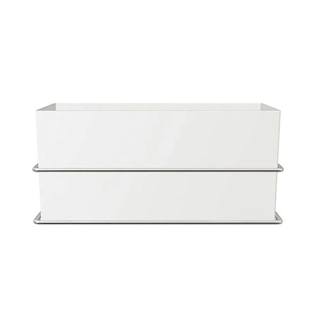 Command™ Satin Nickel Wall Cabinet Organizer - 5
