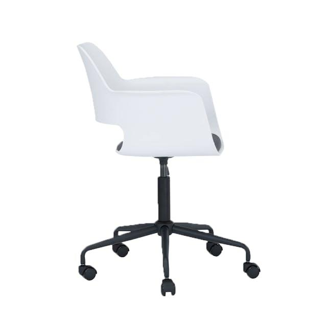 Denver Swivel Chair - White - 2