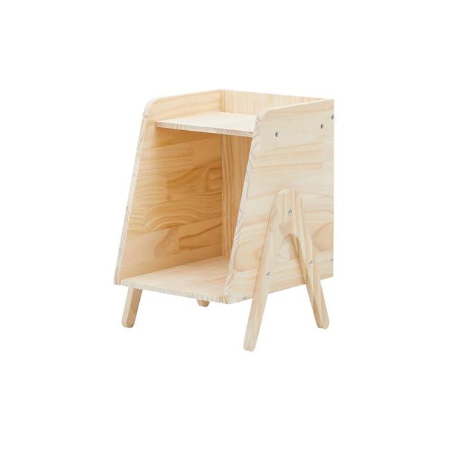 Nizu Kids Side Table - Natural - 0