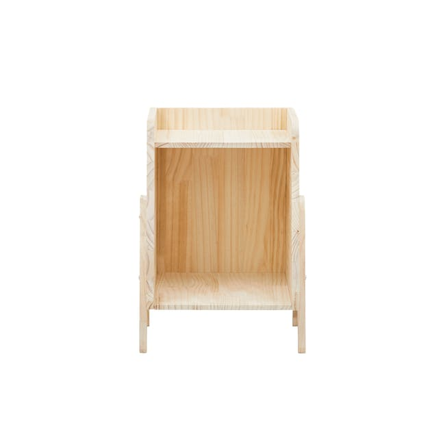 Nizu Kids Side Table - Natural - 1