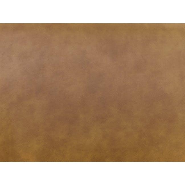 Milan Ottoman - Tan (Faux Leather) - 3