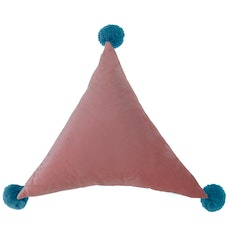 Triangle Pom Plush - Pink
