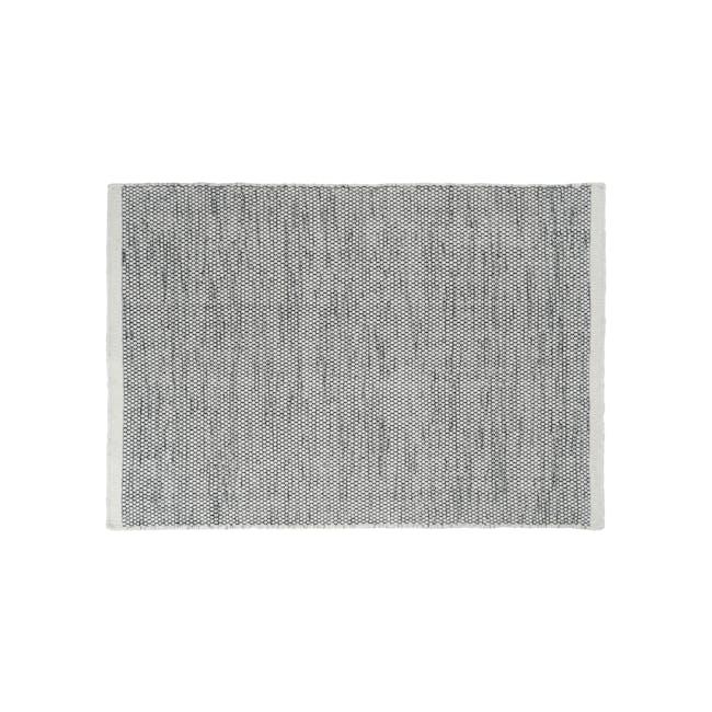Fugito Flatwoven Rug 2.4m x 1.7m - Grey - 0