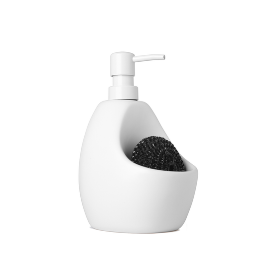 Umbra - Joey Pump/Scrubby Combo - White