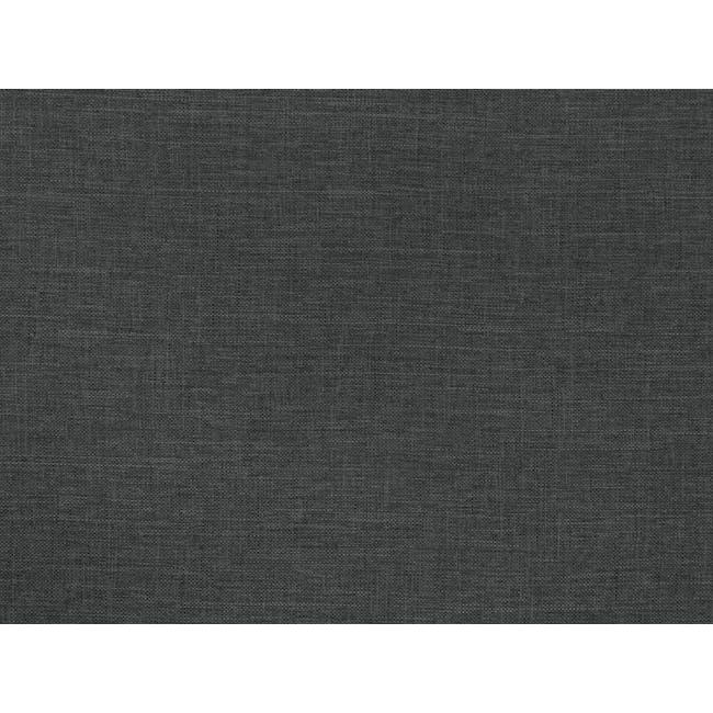 ESSENTIALS Queen Box Bed - Smoke (Fabric) - 5