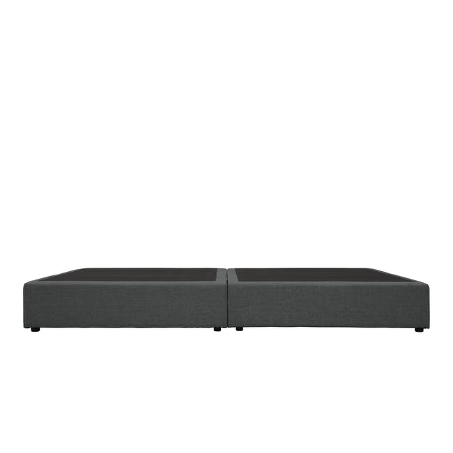 ESSENTIALS Single Box Bed - Smoke (Fabric) - 3