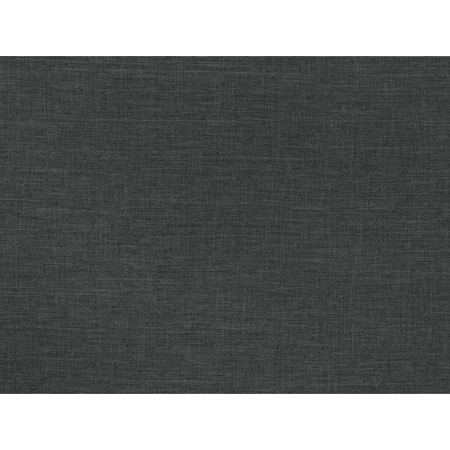 ESSENTIALS Single Box Bed - Smoke (Fabric) - 5