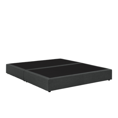 Benjamin Box Divan Bed - Dark Grey (Fabric)- 4 Sizes - Image 2