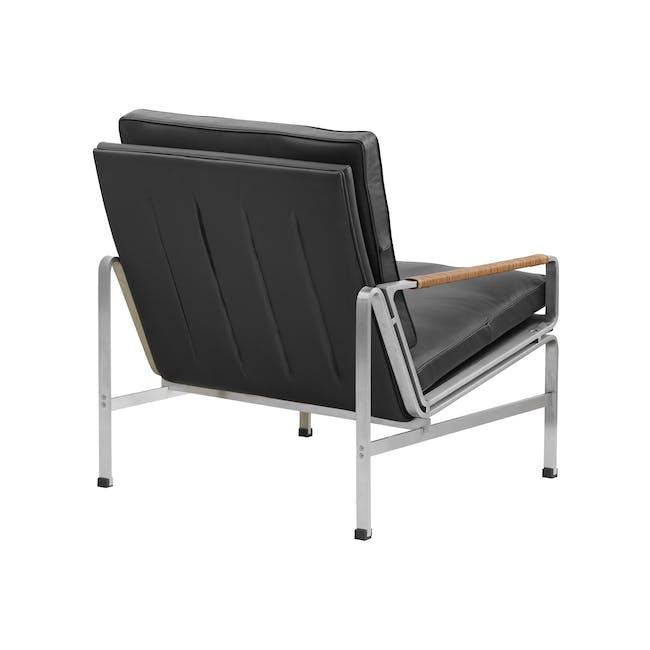 FK6720 Easy Chair Replica - Black (Genuine Cowhide) - 3
