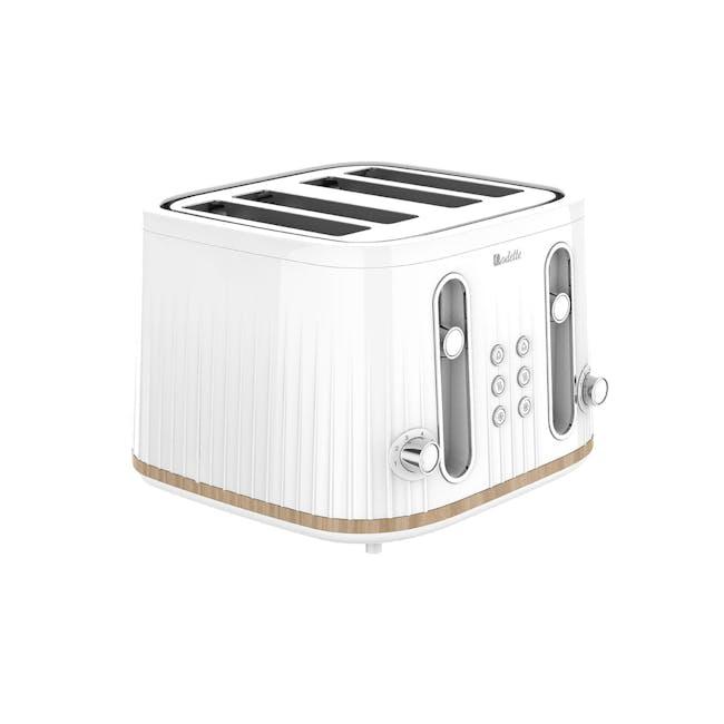 Odette George Series 4-Slice Bread Toaster - White - 0