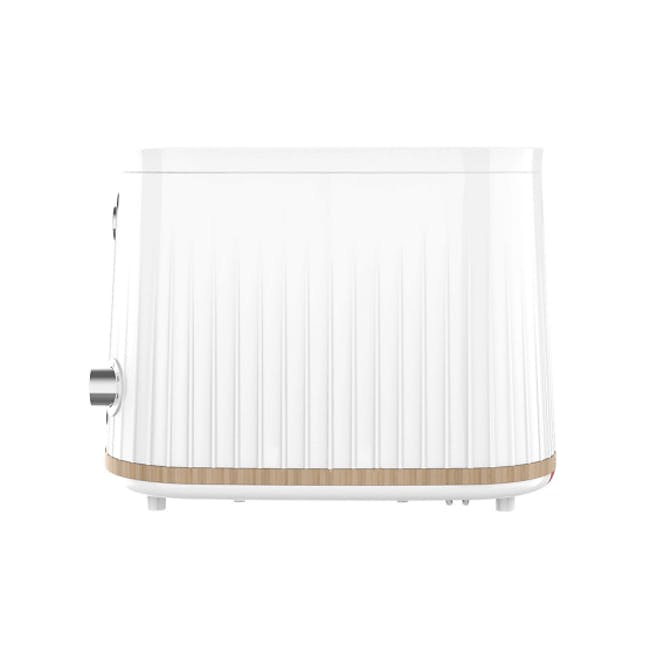 Odette George Series 4-Slice Bread Toaster - White - 2