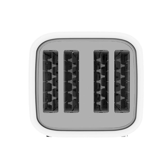 Odette George Series 4-Slice Bread Toaster - White - 3