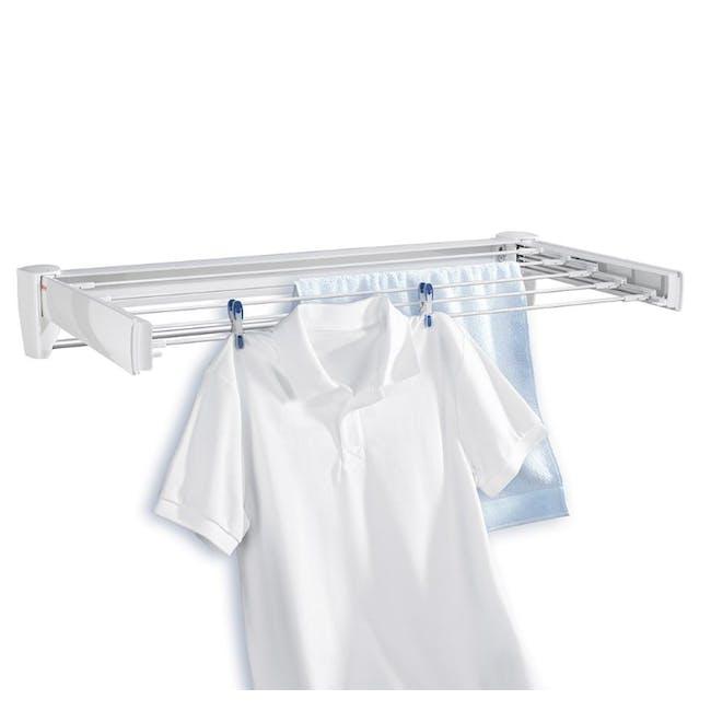 Leifheit Telegant 36 Protect Plus Wall Clothes Drying Rack - 1