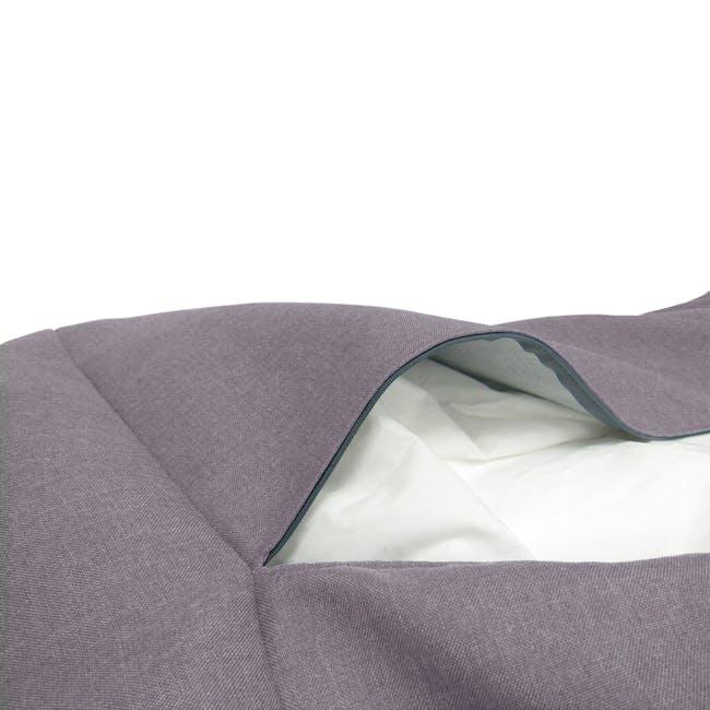 Daisy Bean Bag - Light Grey - 3