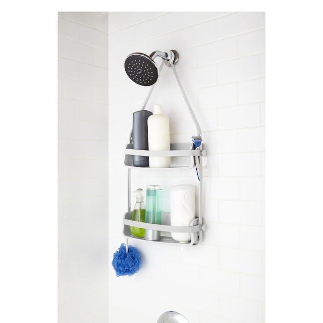Flex Shower Caddy - White - 3