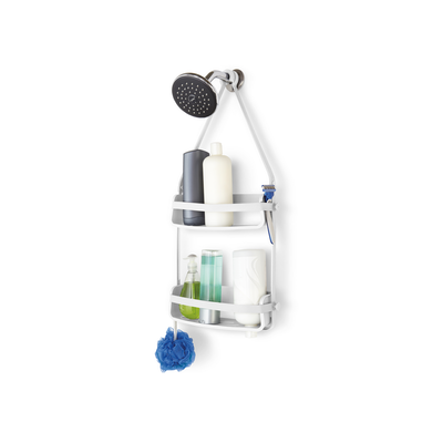 Flex Shower Caddy - White - Image 1