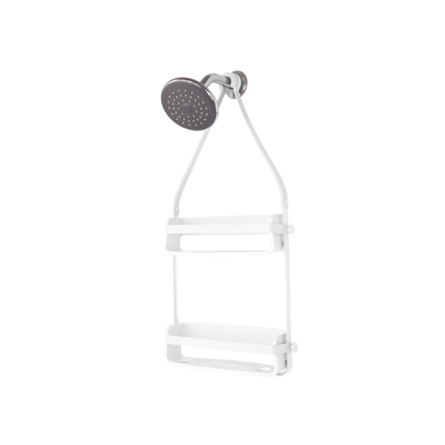 Flex Shower Caddy - White - Image 2