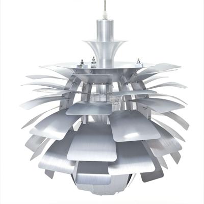 Artichoke Lamp with E27 Bulb - Silver